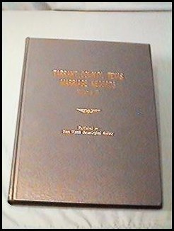 Tarrant County Marriage Records, Volume III