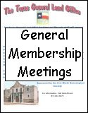 FWGS General Membership Meetings
